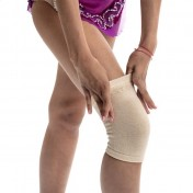 ONE knee pad for competition - Size S Beige